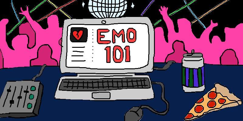 Emo Night Graphic