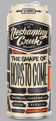 """beer called """"The Shape of Hops to Come"""""""